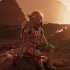 Matt Damon dalam The Martian (Foto: popsci.com).