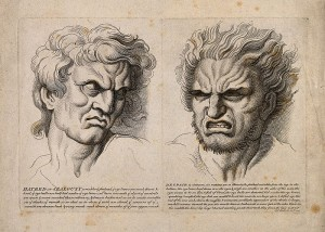 [Photo:  Hatred and Jealousy by Charles Le Brun]